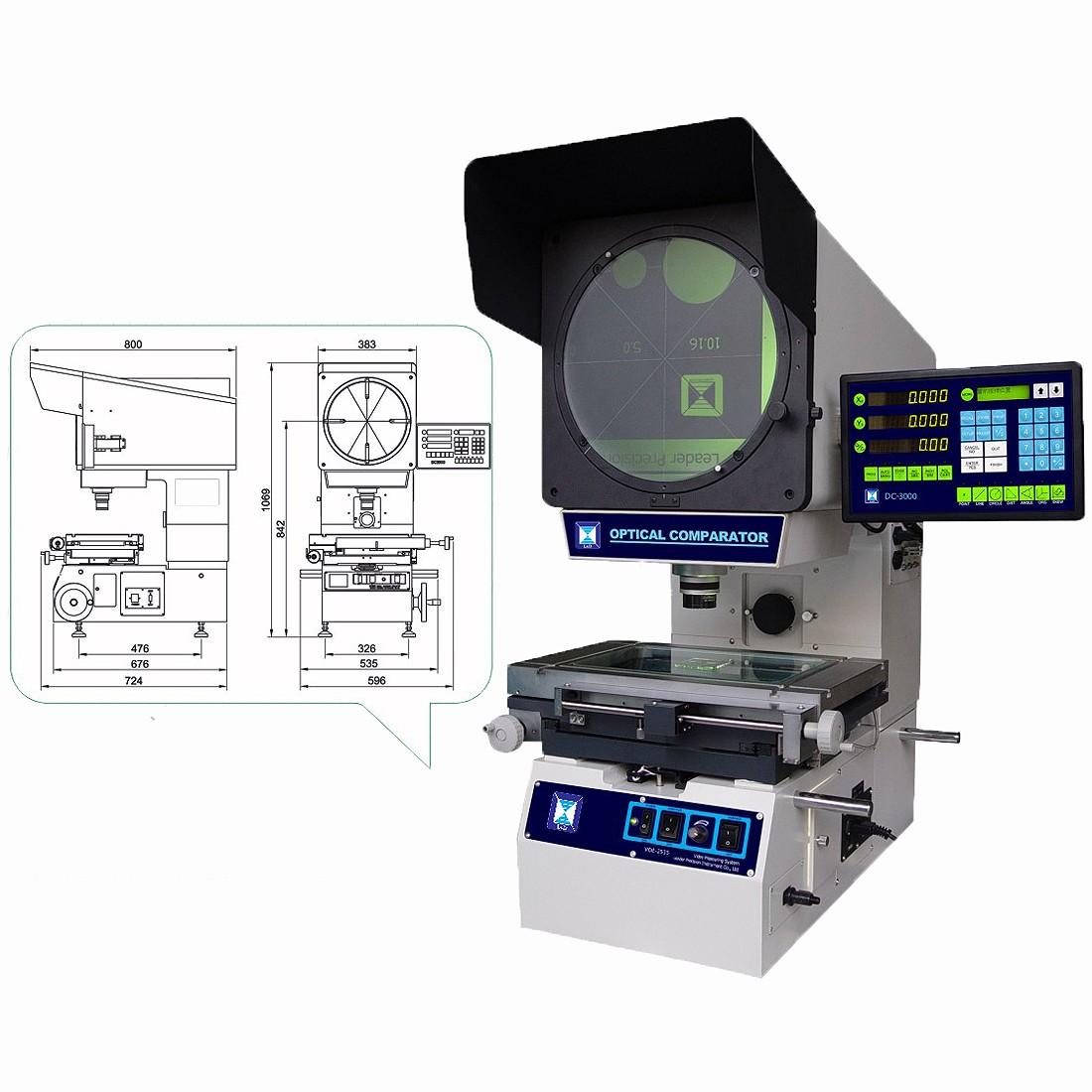 Vertical Profile Projector VOE Series