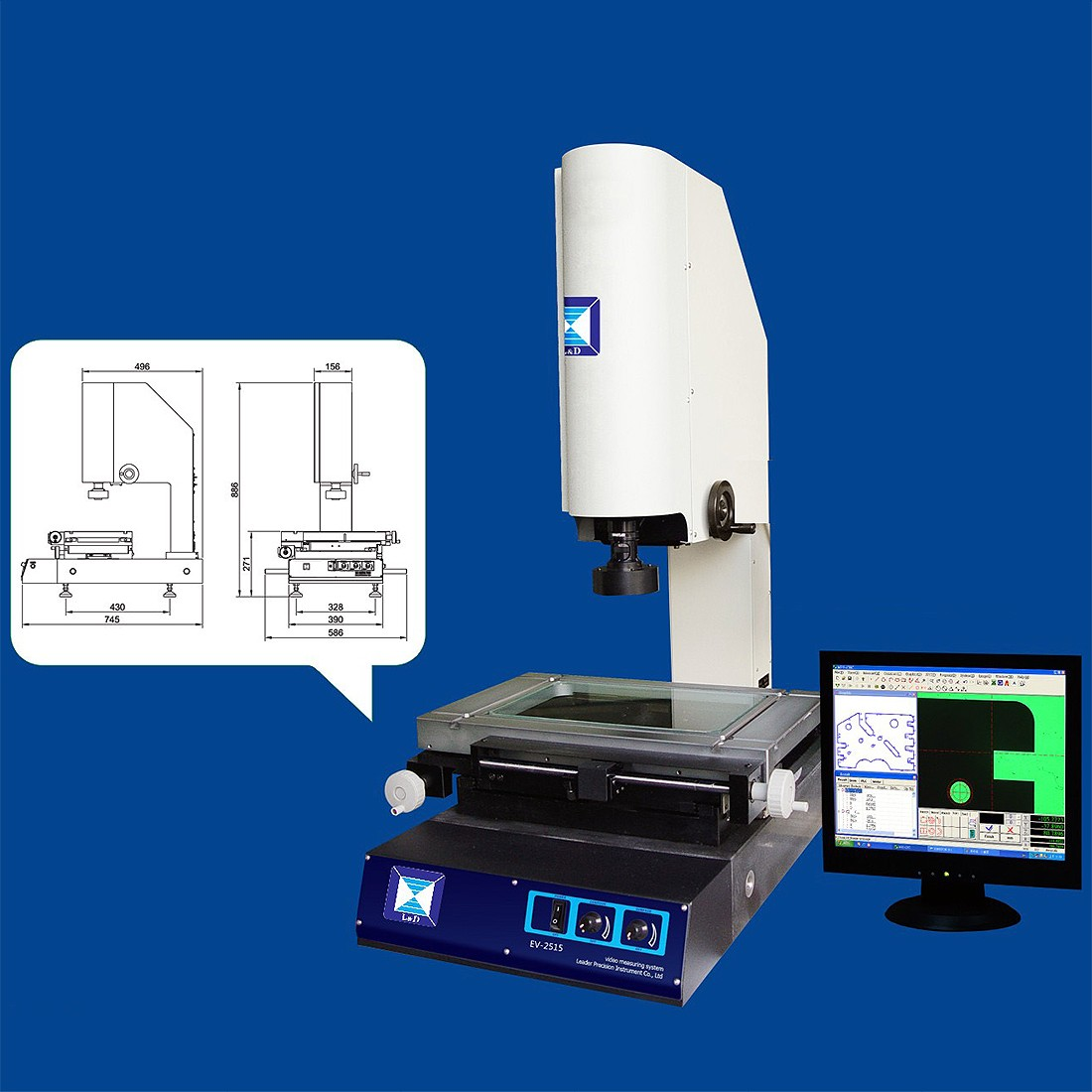 2D Video Measuring Machine EV Series