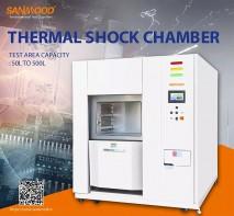 SANWOOD Three Zone Thermal Shock Chamber