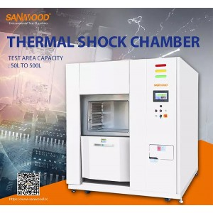 SANWOOD Three Zone Thermal Shock Chamber